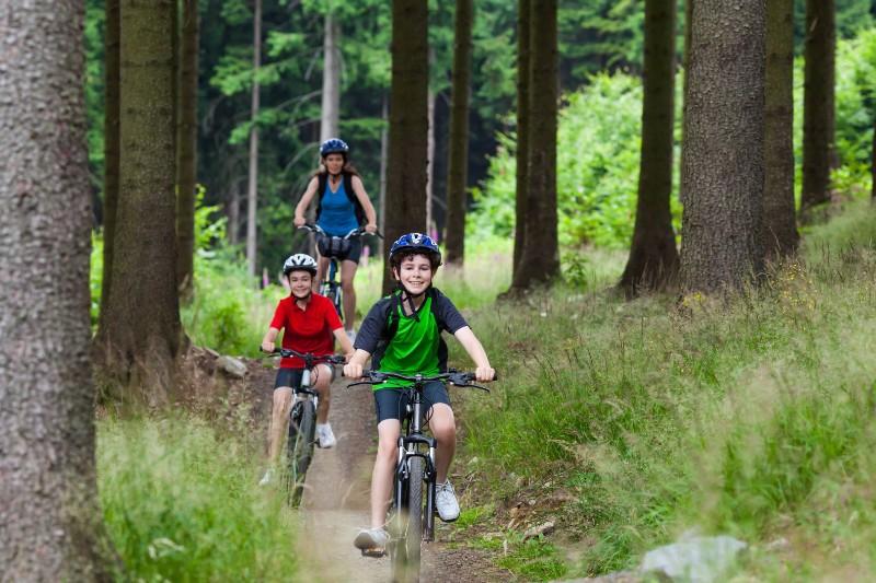 bigstock-Active-family-biking-40953253