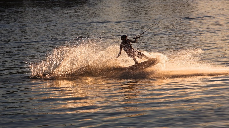 bigstock-Wakeboarder-on-water-56312477