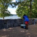 Green River Lake Visitors Center scenic view