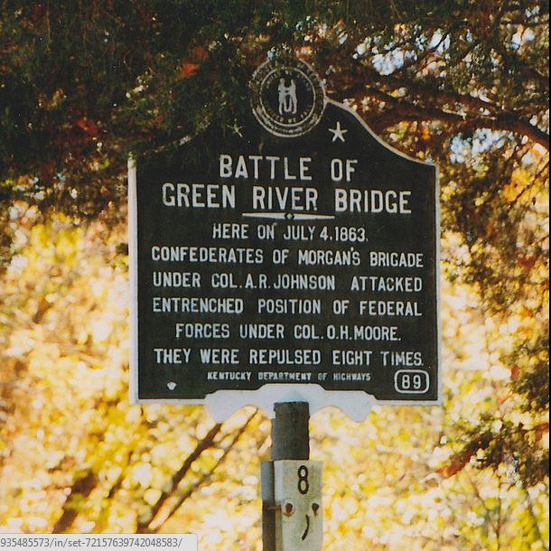 Tebbs Bend-Green River Bridge Battlefield Campbellsville KY