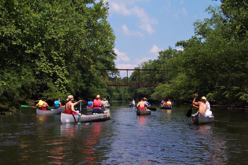 River Trips - Camp Namekagon - Hayward, Wisconsin RV Park