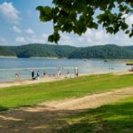 Green River Lake State Park Campground RV Lakeside Camping trails beach
