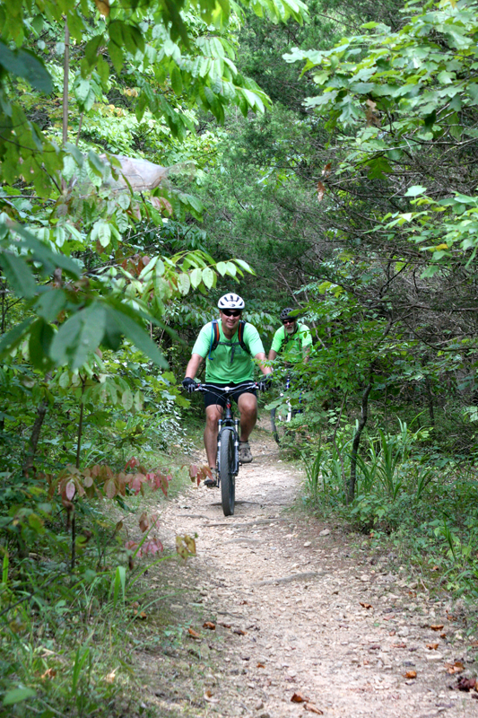 mountain biking green river lake state park campbellsville KY