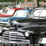 Campbellsville Car Show Downtown Saturday night