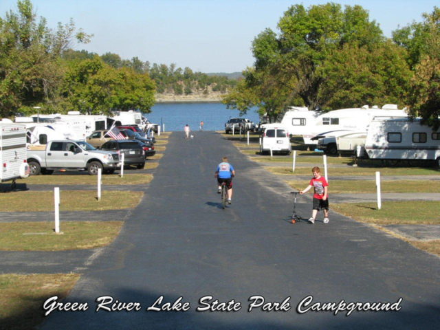 Green River Lake State Park CampgroundCampbellsville KY