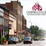 Mainstreet downtown Campbellsville KY Shop Dine