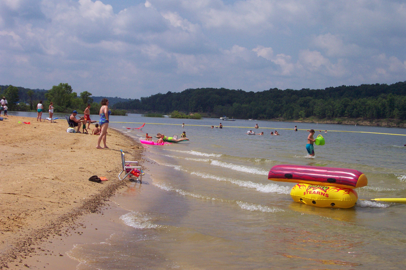 Public Beaches Green River Lake Campbellsville KY
