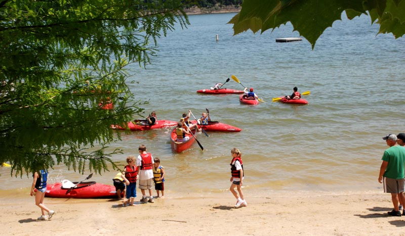 Kids Outdoor Day Green River Lake State Park Campbellsville KY