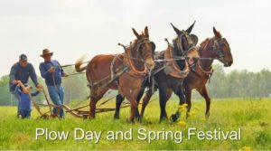 Plow Day Spring Festival Homeplace on Green River