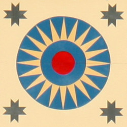 The Blazing Star Barn Quilt