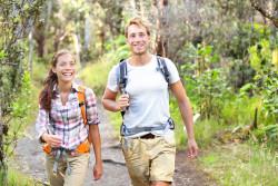 Hiking at Green River lake Campbellsville KY